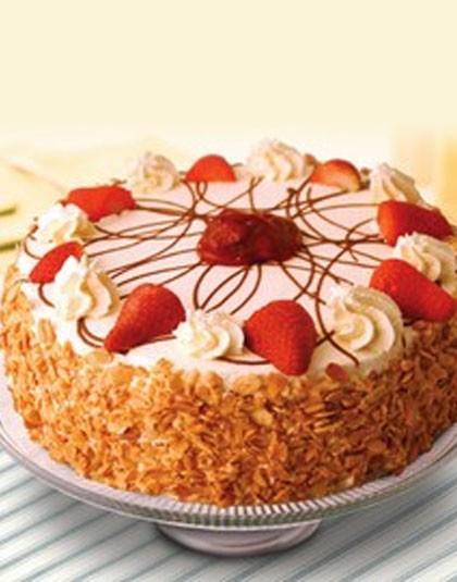 Strawberry Gateux