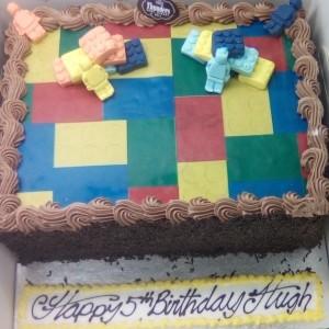 lego cake thunders