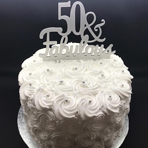 Fabulous 50 Cake Thunders Bakery